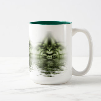 T-rex 2 Two-Tone coffee mug