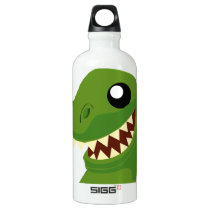 T-Rex Aluminum Water Bottle