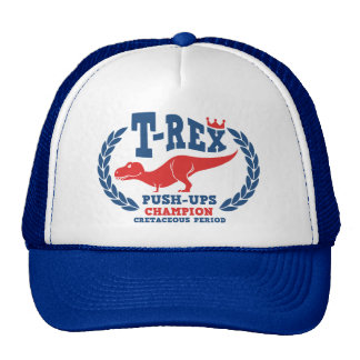 T-Rex ama pectorales Gorros