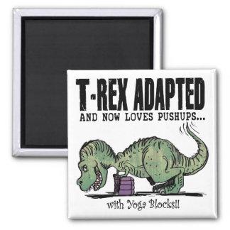 T-Rex ama pectorales Imán Cuadrado