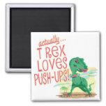 T Rex ama pectorales Iman Para Frigorífico