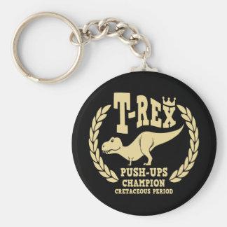T-Rex ama pectorales Llavero