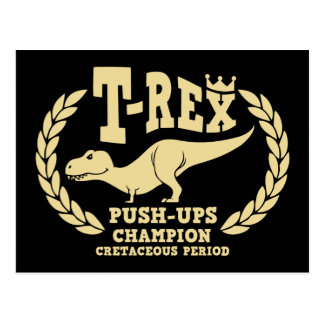 T-Rex ama pectorales Postal