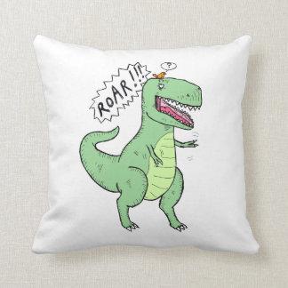 T Rex and Bird Pillows