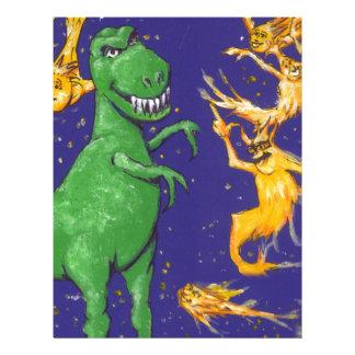 T-Rex and Comets Letterhead