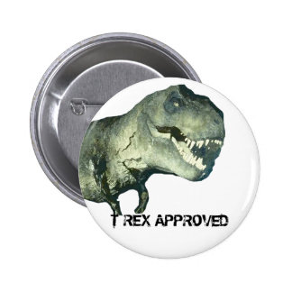 T-REX APPROVED BUTTON