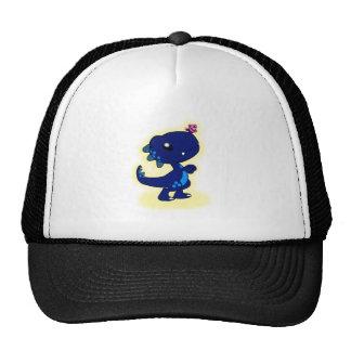 T-Rex azul Gorra