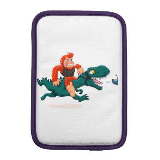T rex bigfoot-cartoon t rex-cartoon bigfoot sleeve for iPad mini