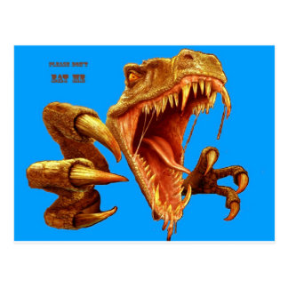 T Rex_blue screen.jpg Postales