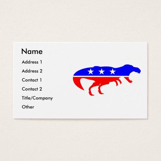 T Rex Business Cards Zazzle Com