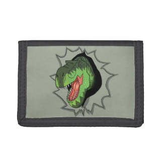 T-Rex busting out of Trifold Wallet
