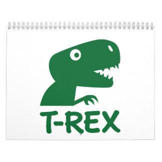 T-Rex Calendar