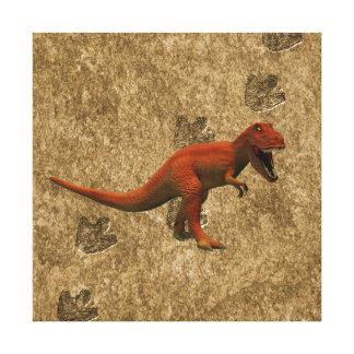 T Rex Gallery Wrap Canvas