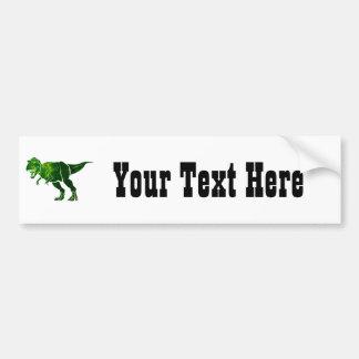 T-Rex Car Bumper Sticker