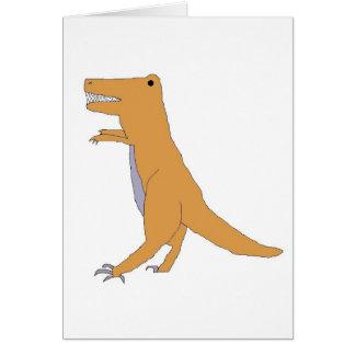 T. Rex card