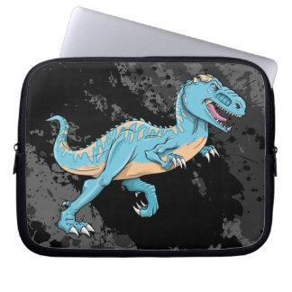 T-Rex Carnotaurus Dinosaur Electronics Sleeve Laptop Sleeves