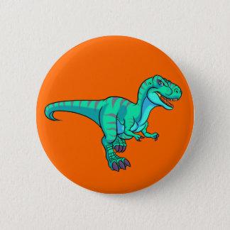 T-Rex cartoon Pinback Button