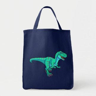 T-Rex cartoon Tote Bag