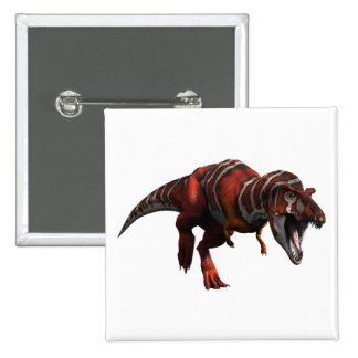 T-rex Charge Pinback Buttons