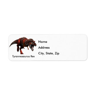 T-Rex Charge Label