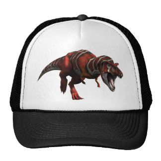 T-rex Charge Trucker Hat