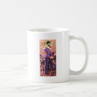 T-Rex civil war south Coffee Mug
