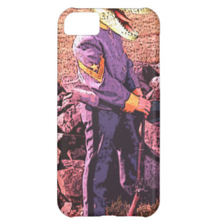T-Rex civil war south iPhone 5C Case