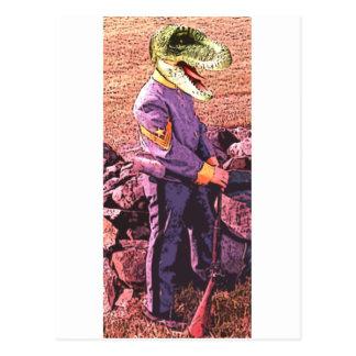 T-Rex civil war south Postcard