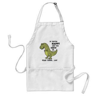 T-Rex Clap II Adult Apron