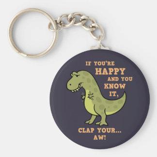 T-Rex Clap II Key Chains