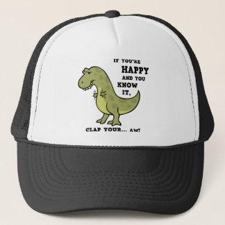 T-Rex Clap II Trucker Hat