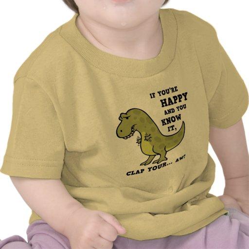 T-Rex Clap II Tshirt