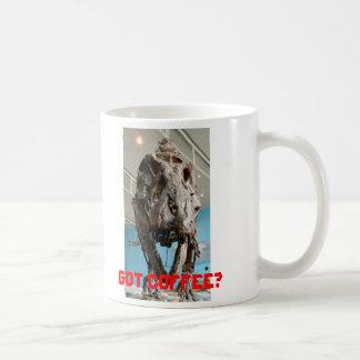 ¿T-Rex, conseguido el café? - taza