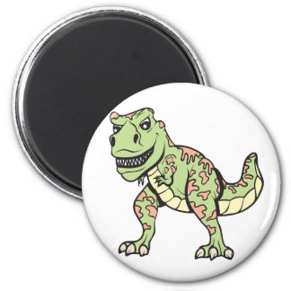 T-rex!  Customizable! 2 Inch Round Magnet