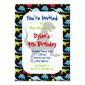 Kids Birthday Invitations Pretty Pattern Gifts