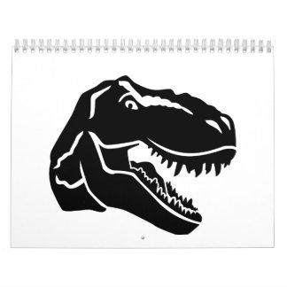 T-Rex dinosaur Calendar