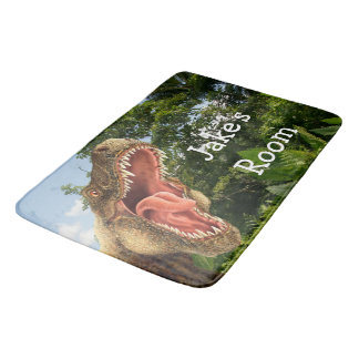 T-Rex Dinosaur Kid's Bedroom Rug or Mat