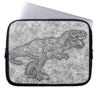 T-Rex Dinosaur Laptop Computer Sleeves