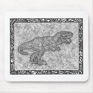 T-Rex Dinosaur Mouse Pad