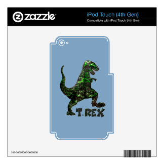 T Rex Dinosaur Multiple products selected Skin For iPod Touch 4G