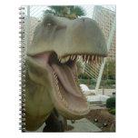 T-Rex Dinosaur Notebook