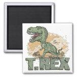 T. Rex Dinosaur por los estudios de Mudge Iman De Nevera