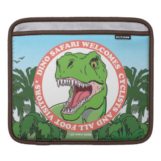 T Rex Dinosaur Safari iPad Sleeves