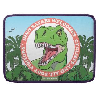 T Rex Dinosaur Safari MacBook Pro Sleeve