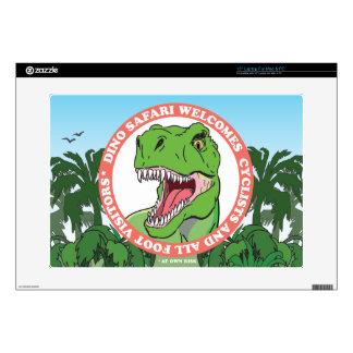 "T Rex Dinosaur Safari Skins For 15"" Laptops"