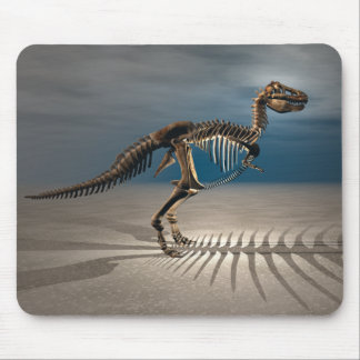 T. rex Dinosaur Skeleton Mouse Pad