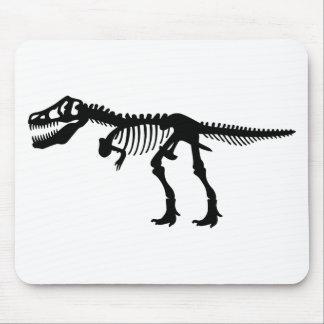 T Rex Dinosaur Skeleton Mousepad