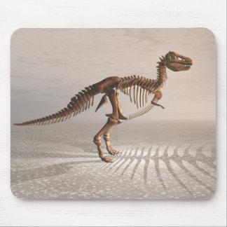 T. Rex Dinosaur Skeleton mousepad