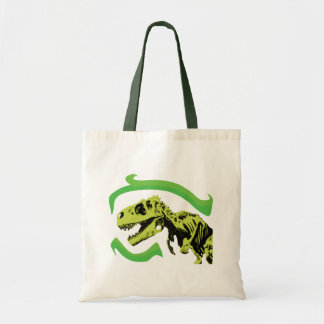 T-Rex Dinosaur Skeleton Tote Bag