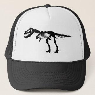 T Rex Dinosaur Skeleton Trucker Hat